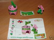 KINDER C-37 C37 FUNNY CASTLE RITTER + BPZ + STICKERS