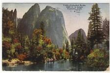 AK Yosemite, California, Cathedral Rocks 1933
