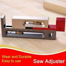 Drillpro Table Saw Slot Adjuster Mortise Tenon Tool Woodworking Movable Measure