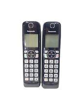 Panasonic KX-TGFA51B Dect 6.0 Digital Cordless 2 Handset LOT KX-TGF575 KX-TG4771