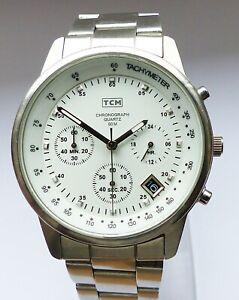 Schöner TCK WR50 Chronograph Herren Armbanduhr