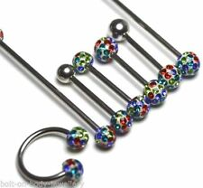 Unbranded Epoxy Surgical Steel Body Piercing Jewellery
