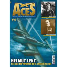 ACES N°12 les As de l'histoire de l'aviation mondiale - Helmut Lent