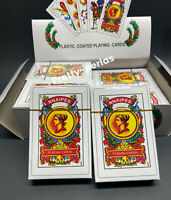2 PKS Mexican Naipes 50 playing card Baraja bingo poker cards game deck
