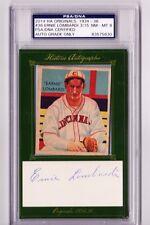 2014 HA Originals 1934-36 Diamond Stars #36 Ernie Lombardi HOF AUTO PSA 8 #d /15