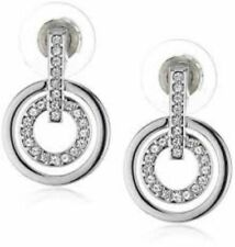 Genuine Swarovski Circle Earrings