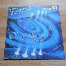 DDR Bulgarien+Schallplatte+ Boney M.+ ten thousand lightyears LP Balkanton Vinyl
