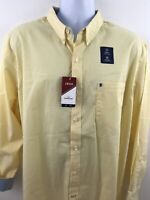 NWT Mens Izod The Gingham Non-Iron Shirt XL Button Up Long Sleeve Pocket