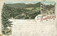 Ansichtskarte Hornberg Bahnhofstraße 1897(Nr.9189)
