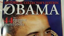 HISTORICAL COLLECTOR'S EDITION Obama 44th PRESIDENT OF THE U.S. November 2008