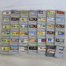 "WHOLESALE SUPER FAMICOM Lot 40""NTSC-J"" Nintendo SFC Cartridge 7041sfc40"