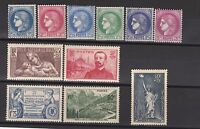 FRANCOBOLLI 1937/40 FRANCIA MLH Z/4408