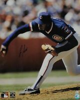 Lee Smith Signed Autograph 16x20 Photograph Chicago Cubs Pitching W/ GAI COA