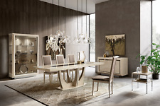 Esf Elite Contemporary Dining Room Set Made in Italy by Camelgroup, 8 piece set