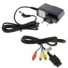 Netzteil + TV AV Kabel Super Nintendo SNES Strom Stromkabel Chinch Fernsehkabel