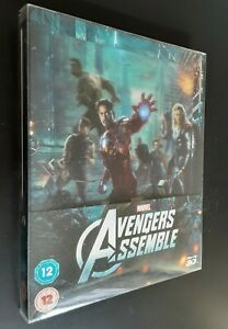Avengers: Assemble SteelBook Lenticulaire Zavvi Blu-ray Comme Neuf