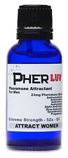 Pherluv feromona sexual Colonia Aceite Para Hombres * atraer mujeres! 52x Androstenone +