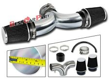 BCP BLACK 97-00 Corvette C5 5.7 V8 Dual Twin Air Intake System + Filter