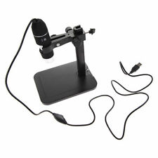 2MP USB 1000X 8 LED Digital Microscope Endoscope Magnifier Camera+Lift Stand M