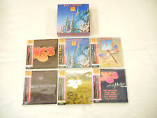 Yes JAPAN 6 titles Mini LP SHM-CD PROMO BOX SET