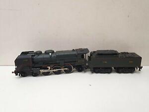 Jouef locomotive a vapeur 231 c 60 verte et noire   en HO