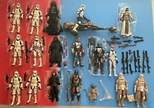 STAR WARS BLACK SERIES 332 Clone TROOPER Luke Jedi REMNANT Mandalorian LOOSE LOT