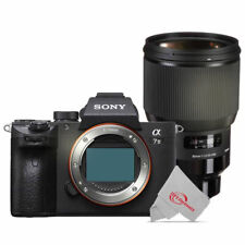 Sony Alpha a7 III Mirrorless Digital Camera with Sigma 85mm f/1.4 Lens Bundle