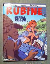 "RARE EO RUBINE T4 ""SERIAL KILLER""- DI SANO / WALTHERY- LOMBARD 1996- NATACHA"