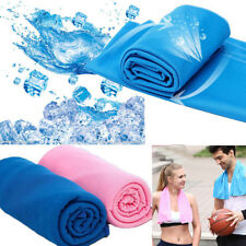 Sports Chilly Pad Cooling Towel Instant Ice Enduring Jogging Running Solid Towel