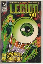 DC Comics LEGION 90 #21 November 1990 VF+