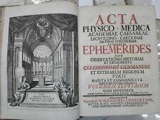 1744 - NORIMBERGA – ACCADEMIA FISICO-MEDICA VOLUME SETTIMO