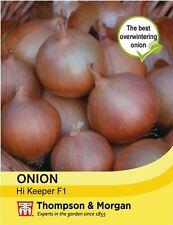 Thompson & Morgan - Vegetables - Onion Hi-Keeper - 80 Seed
