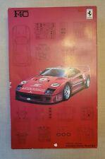 FUJIMI F40 SUPER CAR SERIES  1/16 SCALE MODEL KIT 101743