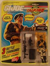 G.I. Joe Electronic Talking Battle Commanders GI Stalker Ranger Combat Sound MOC