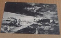 Postcard Hull outrage Russian Naval Attack on Hull Trawlers posted 1904