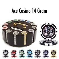 Brybelly Holdings 300 Ct - Pre-Packaged - Ace Casino 14 Gram - Wooden Carousel