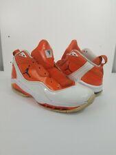 Rare Colorway Jordan Melo M8 White/Midnight Navy-Orange Blaze Size 10.5