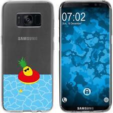 Case für Samsung Galaxy S8 Plus Silikon-Hülle Sommer Ananas M2 Cover