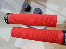 On One Red Cycle Grips