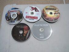 33 DVD ACTION ADVENTURE WAR MOVIE LOT PULP FICTION APOLLO 13 PIRATES CARIBBEAN