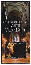 2012 Gambia Block 832 Papst Benedikt postfrisch (MNH)