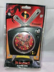 The Incredibles TV Alarm Clock  Disney Incredibles Clock  The Incredibles Toys.