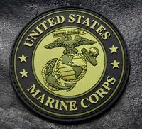 Usa Marine Corps Ega Semper Fidelis Morale Patch (HOOK-3D PVC Rubber-PV10)
