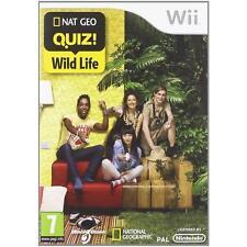Nintendo Wii PAL version Nat Geo Quiz Wild Life