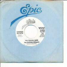 Barron Knights The Topical Song bw same Epic 50755 DJ (Logical Song parody) 45