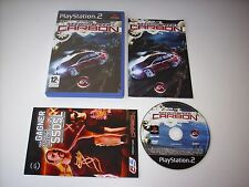 """JEU PLAYSTATION 2 """" NEED FOR SPEED CARBON """"  PAL COMPLET EN BOITE"""