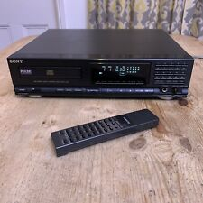 Sony CDP-M51 Stereo Compact Disc CD Player HiFi Separate & Remote - PAT Tested