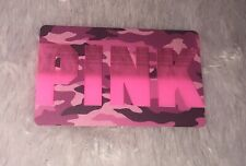 Victoria's Secret PINK/ 2019 PINK CAMO GIFT-CARD NO VALUE
