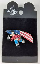 Mickey's Star Spangled Event Map Search Max Hang Gliding Disney Pin 12959