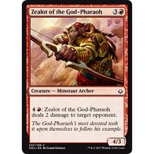 MTG HOUR OF DEVASTATION * Zealot of the God-Pharaoh x2